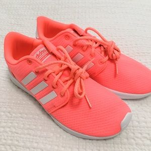 NWOT Adidas Cloudfoam Running Shoes in Coral